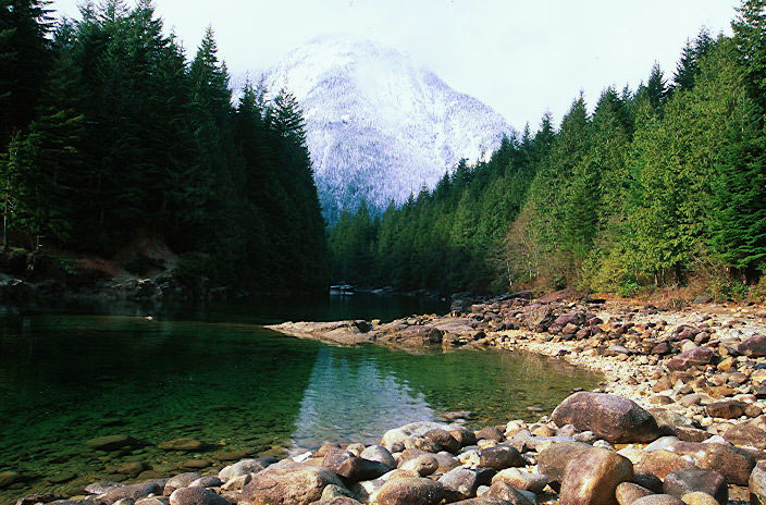 Gold Creek, Golden Ears Park