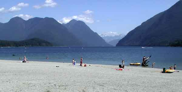 Alouette Lake in Maple Ridge